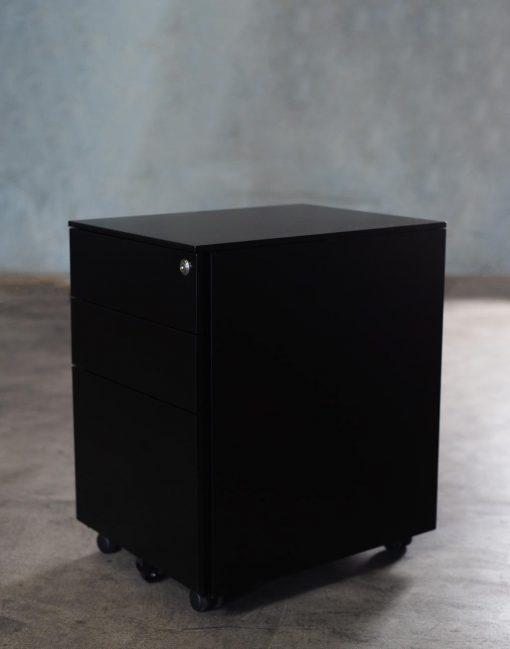Mobile Pedastal Black